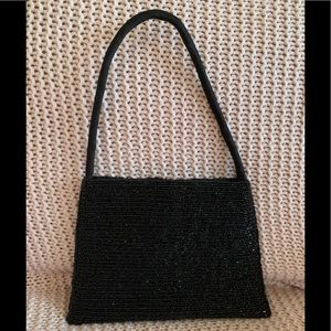 Beaded Black Purse from Accessorize